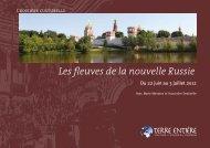 Croisière Les fleuves de la nouvelle Russie - Terre Entière