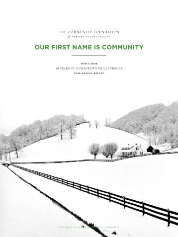 our first name is community - FOLIO Home