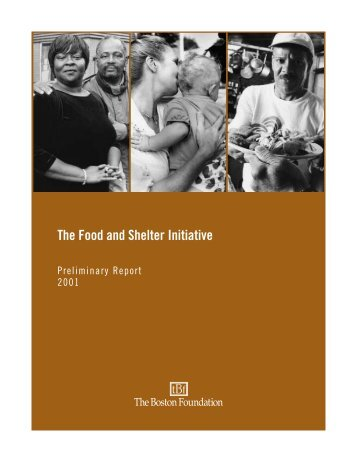 The Food and Shelter Initiative Preliminary Report - folio