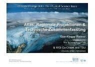 Atlas Regionaler Klimaprojektionen - Climate Change 2013: The ...