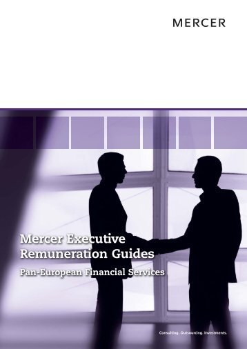 Mercer Executive Remuneration Guides - iMercer.com