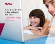 Guía para padres sobre sitios de red social - McAfee