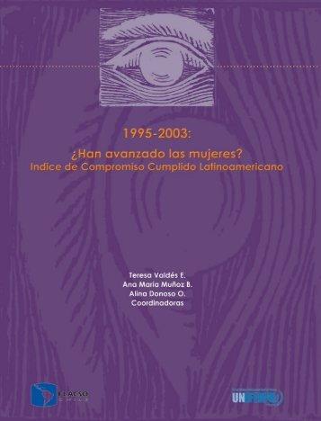 1995-2003: ¿Han avanzado las mujeres? - Cátedra Unesco de ...