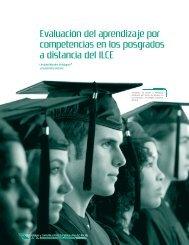 Evaluación del aprendizaje por competencias en los posgrados a ...