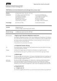 Sitzung 1/07 vom 09.01.07 - Departement Bau, Umwelt und Geomatik
