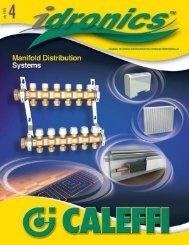 Caleffi idronics 4 - Energy Efficient Green Building