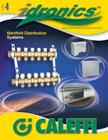 Caleffi idronics 4 - Energy Efficient Green Building