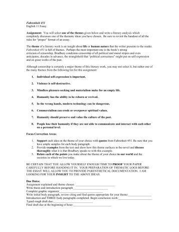 graduate school essay format