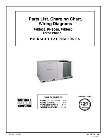 parts list charging chart tech labels wiring diagrams pgx3 36 parts list charging chart wiring diagrams phs036 phs048