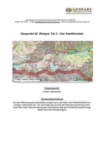 Geopunkt 52 - Geopark Karnische Alpen