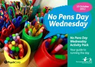 No Pens Day Wednesday - The Communication Trust