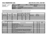 evla observing log 2013-05-20_2315_13a-503 - Very Large Array