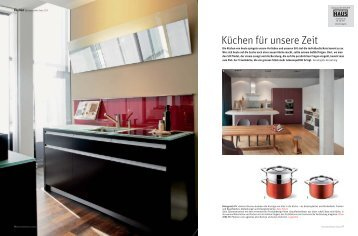 Küchen für unsere Zeit - HERZOG Küchen AG