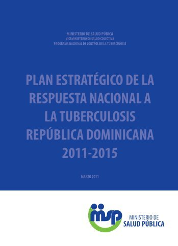 Plan Estratégico Nacional Contra La Tuberculosis - Unidad ...