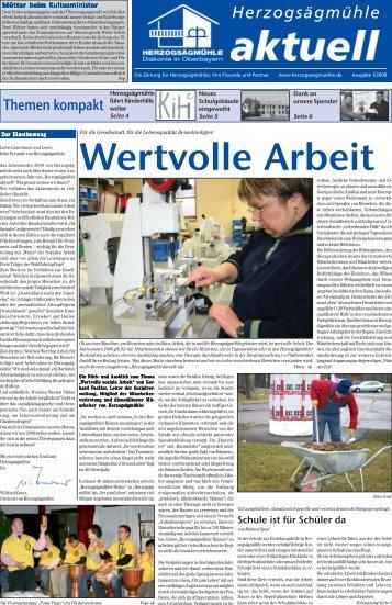 Unsere Veranstaltungen 2008 - Herzogsägmühle