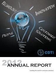 2012 Annual Report - Clean Diesel Technologies, Inc.