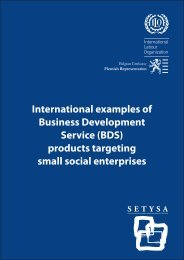 International examples of Business Development ... - GivenGain