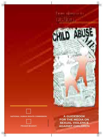 a guidebook for the media on sexual violence against children