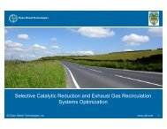Selective Catalytic Reduction and Exhaust Gas Recirculation ...