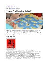 Joyeuse Fête Mondiale du Jeu - ALF : Association des Ludothèques ...