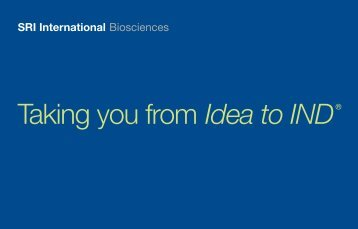Taking you from Idea to IND® - assay depot