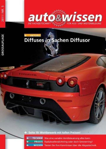 Diffuses in Sachen Diffusor - Auto & Wissen