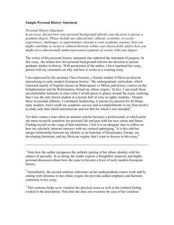 Personal statement samples berkeley