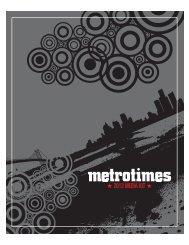 2013 MEDIA KIT - Metro Times