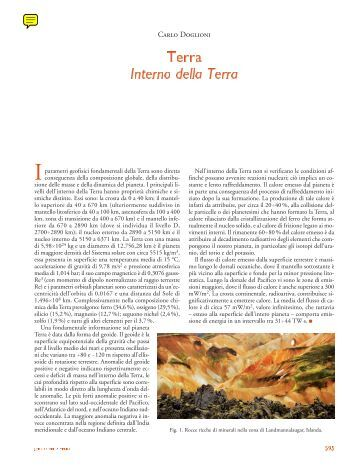Nucleo Struttura Della Terra Crosta Studio In Mappa