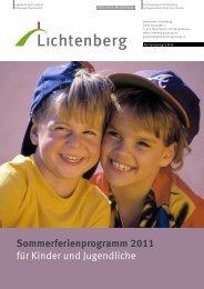 Ferienprogramm 2011 - Lichtenberg