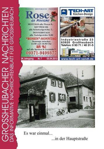 Großheubacher Nachrichten Ausgabe 07-2013 - STOPTEG Print ...