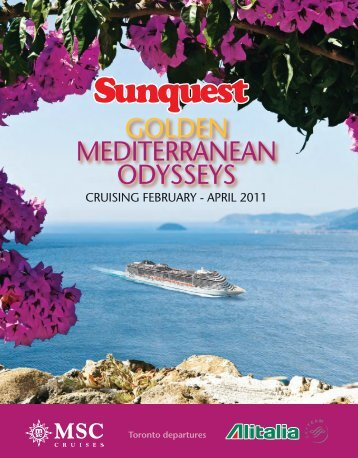 GOLDEN MEDITERRANEAN ODYSSEYS - 411Travelbuys.ca