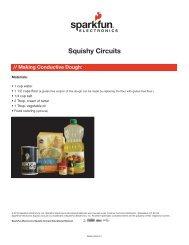 pdf - Squishy Circuits - Handout