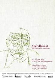 AltersHeimat - Senioren-Forum Basel