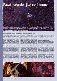 Faszinierender Sternenhimmel - Birseck Magazin
