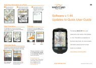 Updates to Quick User Guide Software v.1.45 - Satmap