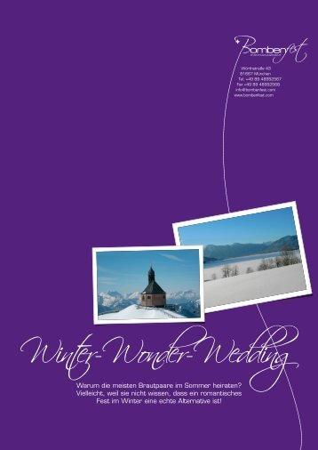 Winter-Wonder-Wedding - Bombenfest