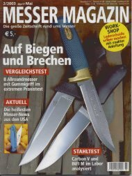 Page 1 Page 2 MESSER MAGAZIN 2/2003 EDITORIAL 3 MESSER ...