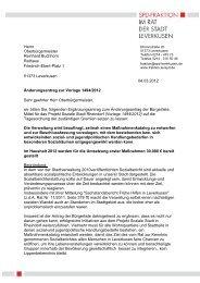 """Ergänzungsantrag """"soziale Stadt Rheindorf"""" - SPD-Fraktion im Rat ..."""