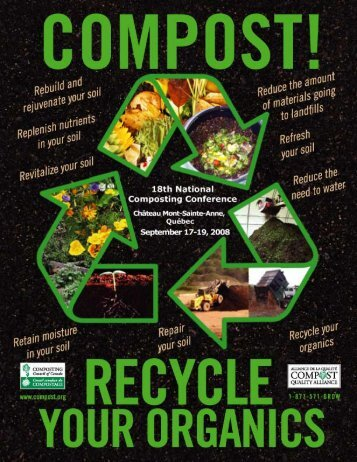 Compost ... Recycle Your Organics! - Compost Council of Canada