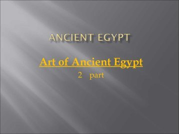 Ancient Egypt & The near east - Campanella