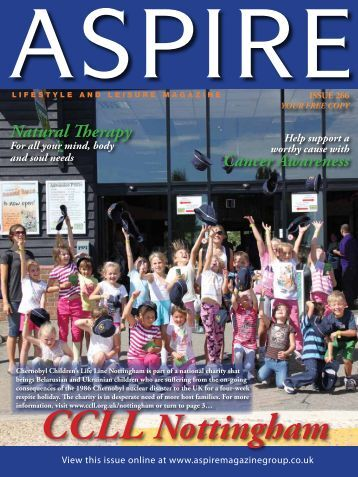 CCLL Nottingham - Aspire Magazine
