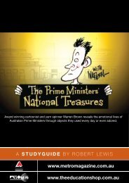 The Prime Ministers' National Treasures Teachers Notes