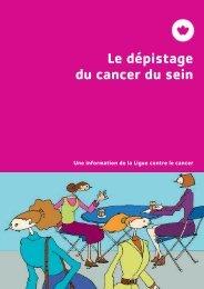 Le dépistage du cancer du sein - Ligue pulmonaire
