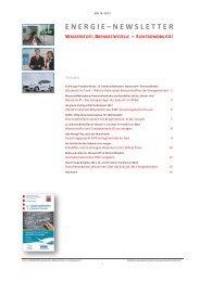 energie – newsletter wasserstoff, brennstoffzelle + ... - Energie.de