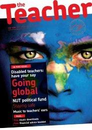 Going global - National Union of Teachers