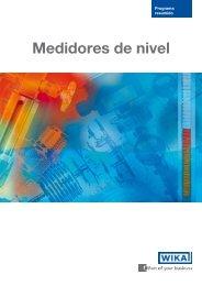Resumen de producto (PDF, 3.1 MB) - WIKA Argentina SA