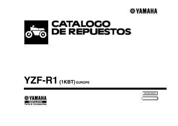 YZF-R1(1KBT)EUROPE - Yamaha Motor de México