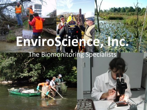 The Biomonitoring Specialists