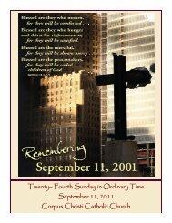 September 11, 2011 - Corpus Christi Catholic Church